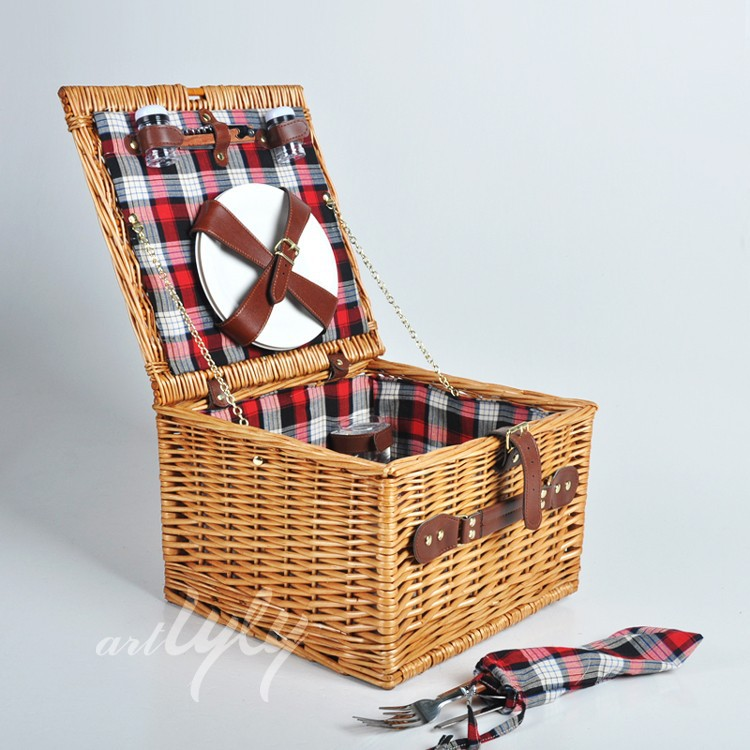 Picnic Basket Jakarta : Wicker cheap picnic basket for outdoor camping buy