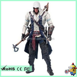 Assassin's Creed 1/6 movable action figure,custom own game 1/6 action figure for collection, OEM movable action figure maker