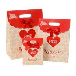 wedding paper gift bag/ good printing paper bag/ lovely paper gift bag