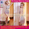 hot see-through tube dress Wholesale crystal bead tight fitted bling bling cocktail dress