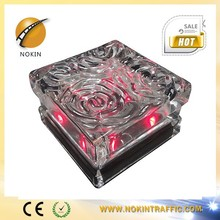 Garden colorful NI-MH battery led glass solar landscape light