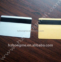 2015 Alibaba Hot sale PVC card with Hi-co magnetic stripe