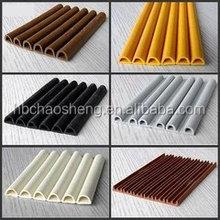 sound proof wooden door rubber seals gasket