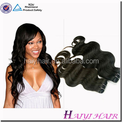 2015 Hot Sale !!! Large Stock Factory Thick Bottom Hair Sew In 100% Brazilian Human Hair