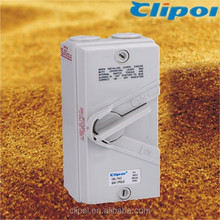 Featured products IP66 single Pole 63Amp Industrial Isolating Switches Australian 63A isolator