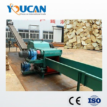 Factory price wood chips log making machine/wood chipper shredder/log chipper
