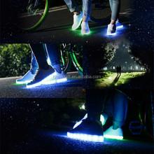 Waterproof LED light run men's shoes price