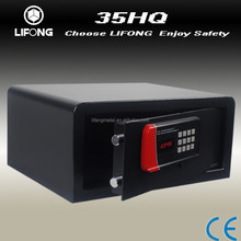 2015 hotel safe box for laptop with emergency opening controller