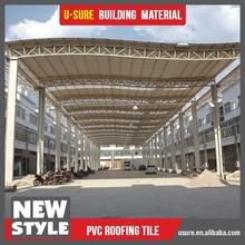 Easy installation isolation material pvc tile roofing
