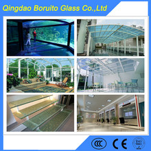High qualityt colored Tempered laminated glass for fence