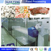 frozen food equipment / tunnel blast freezer/industrial freezer price