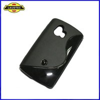New Arrival Soft Skin TPU S-Line Wave Gel Case for Sony-Ericsson Xperia Mini ST15i
