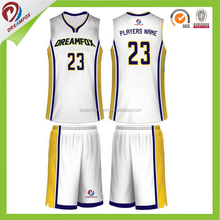top selling cheap basketball jersey set unifroms for high school