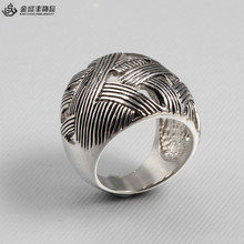 2015 316 stainless steel jewelry unique men's ring china supplier