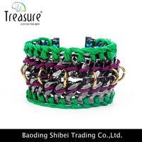 Brass New Gold Bracelet Models Anodized Aluminum Jewelry BL06162
