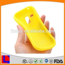 Yellow Color Cheap Silicone Phone Case