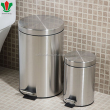 Stainless steel trash bin/waste bin