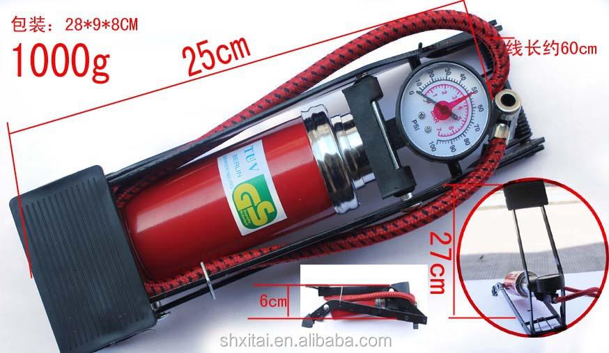 vente chaude portable pompe pied haute pression de gonflage des pneus pour voiture gonfleur. Black Bedroom Furniture Sets. Home Design Ideas