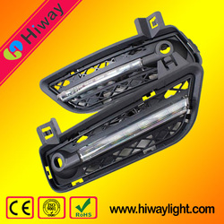 Hiway factory wholesale LED drl daytime runing lamp for BMW X3 series 2010-2013 auto accessories led day light