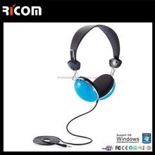 design stereo headphone,earmuff headphone