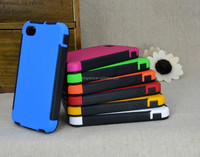 New Arrival Ultra Thin TPU PC Hybrid Case For iPhone4/4s