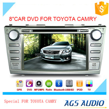 touch screen car dvd gps navigation system with radio/mp3/gps for TOYOTA CAMRY