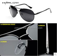 Fashion UV 400 men aviator polarized Sunglasses DLS 9003