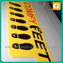 Sand Lamination, Industrial Laminator Airflow Decal Floor Sticker