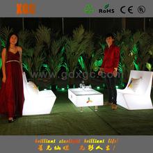 round hotel lobby sofa/led furniture sofa/lighting events furnitures