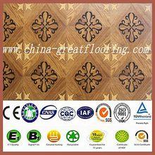 latest design african padauk wood parquet laminate flooring type