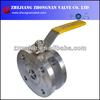 STAINLESS STEEL CF8 PN16 ULTRA-SHORT ITALIAN BALL VALVE