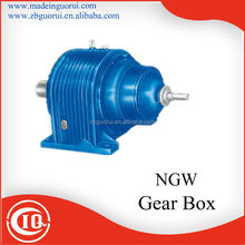 NGW series Right angle planetary speed reducer/variator reducer / motor gear box .