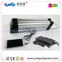 Super power silver fish li-ion battery pack 24v 20ah electric bike batteries