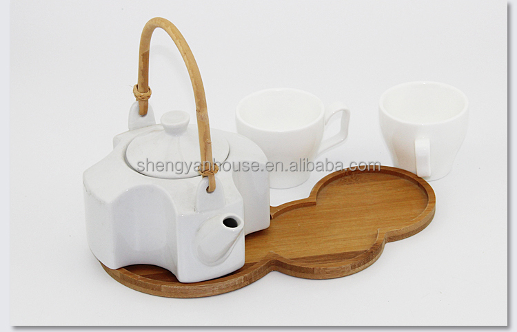 Eco-friendly teak wood serving tray