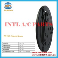 Calsonic compressor clutch hub /plate used for Nissan car series Diameter:111mm China auto air conditioner factory