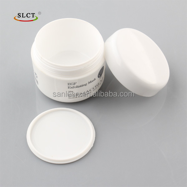 1oz plastic wide mouth cosmetic jar