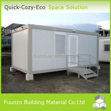 Fireproof PU Panel Steel Shipping Container House for Sale