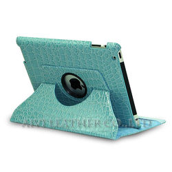 for ipad mini 360 rotating leather case