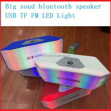 PULSE Wireless mini Bluetooth Speaker LED Light Show for Party Music with FM