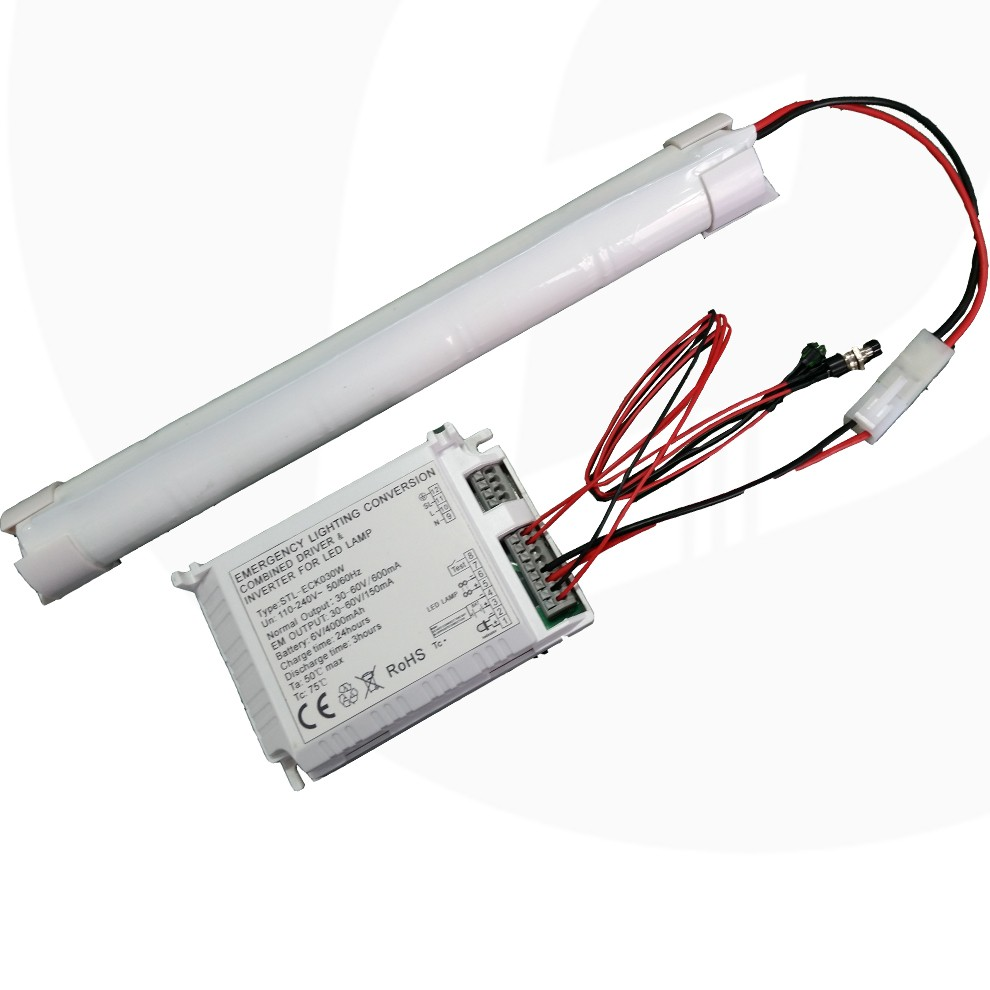 Emergency Led Ceiling Panel Light Integrated Kit For Automatic Driver No Need The