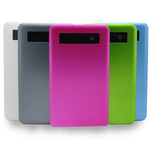 2014 hot selling smart mobile power bank 5000mAH touch screen power bank