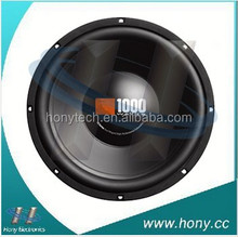cs1204 12 inch Woofer/ Subwoofer Speaker installed in car sub box