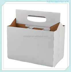 Factory wholesale cardboard wine carrier for bar