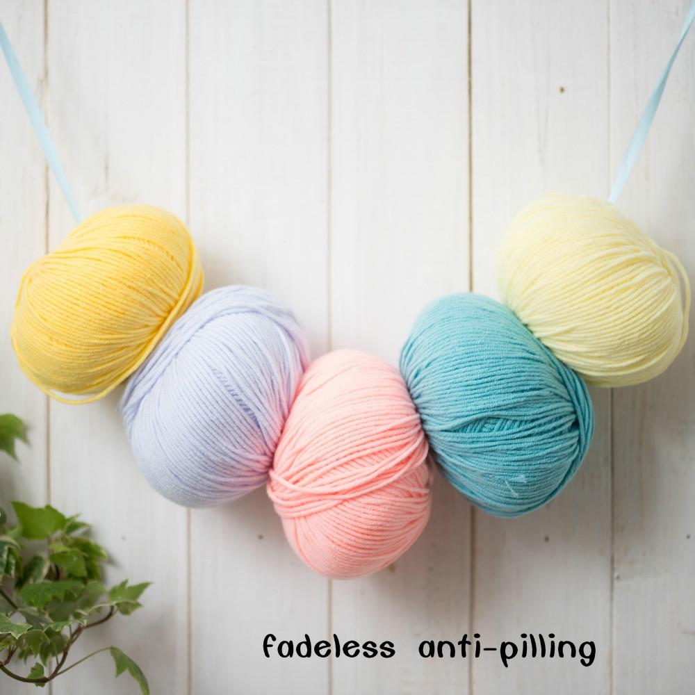 Пряжа с декоративными элементами для вязания
