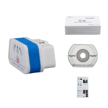 Top Selling 2015 Newest Vgate iCar 2 Bluetooth Version ELM327 OBD2 Code Reader iCar2 For Android/ PC (Six Color Available)