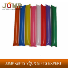 Cheapest cheering stick,hot selling colorful plain balloon sticks