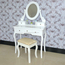 European style home furniture dress table antique dresser furniture