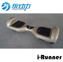 2015 newest two wheeled motor and li-ion battery powered self balancing electric roller skate