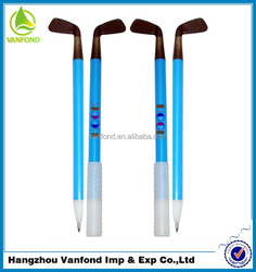 factory direct hot selling promotional new model novelty golf ball pen