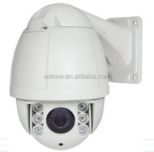Hot Selling 720p ip mini speed dome camera 10x optical zoom PTZ Camera Support Mobile phone access and control
